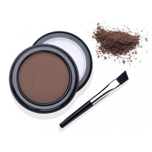 Пудра для бровей с кистью цвет норки Ardell Brow Defining Powder Mink Brown, 22 г