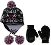 Зимняя шапка с флисовой подкладкой; 2-4 года