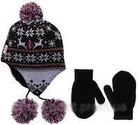 Зимняя шапка с флисовой подкладкой; 2-4 года, фото 1