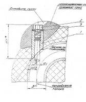Скошенная бобышка с пробкой ЗК4-6-75