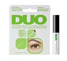 Клей для накладных ресниц с витаминами с кистью, прозрачный Duo Brush On Clear Adhesive №56812