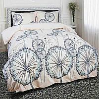Комплект постельного белья теп бязь из хлопка  954 пирелия полуторный