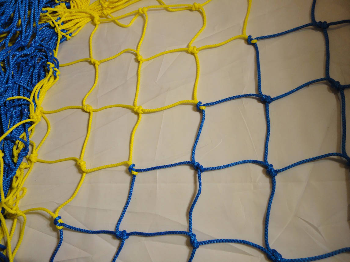 Сетка для  мини-футбола D 4,5мм., для гандбола, фут-зала  Элит, фото 2
