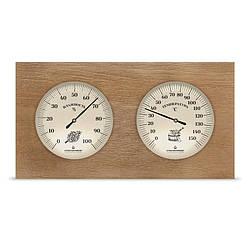 ТГС ІСП.7  (Термогігрометр для сауни, прямокутний, корпус дерево)
