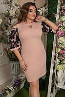 Платье  французское кружево вышивка