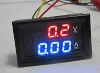 Цифровой (отдельное питание) вольтметр амперметр 10а 100в