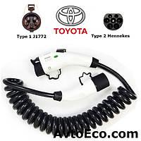 Зарядный кабель Toyota RAV4 EV Type1 (J1772) - Type 2 (32A - 5 метров), фото 1