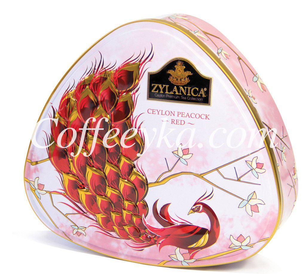 Чай Zylanica Ceylon Peacock Red Красный Павлин 100г ж/б