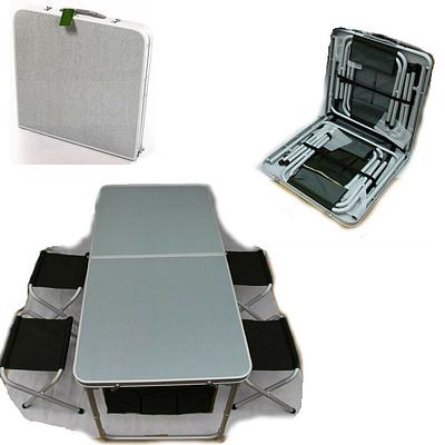 Стол и 4 стула ТА-200+FS 21124 для пикника