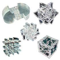 Набор из 5 акриловых 3D-головоломок