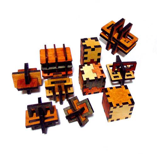 Набор из 10 3D-головоломок