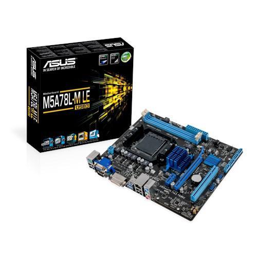"Материнская плата Asus M5A78L-M LE/USB3 AM3+ DDR3 ""Over-Stock"" Б/У"