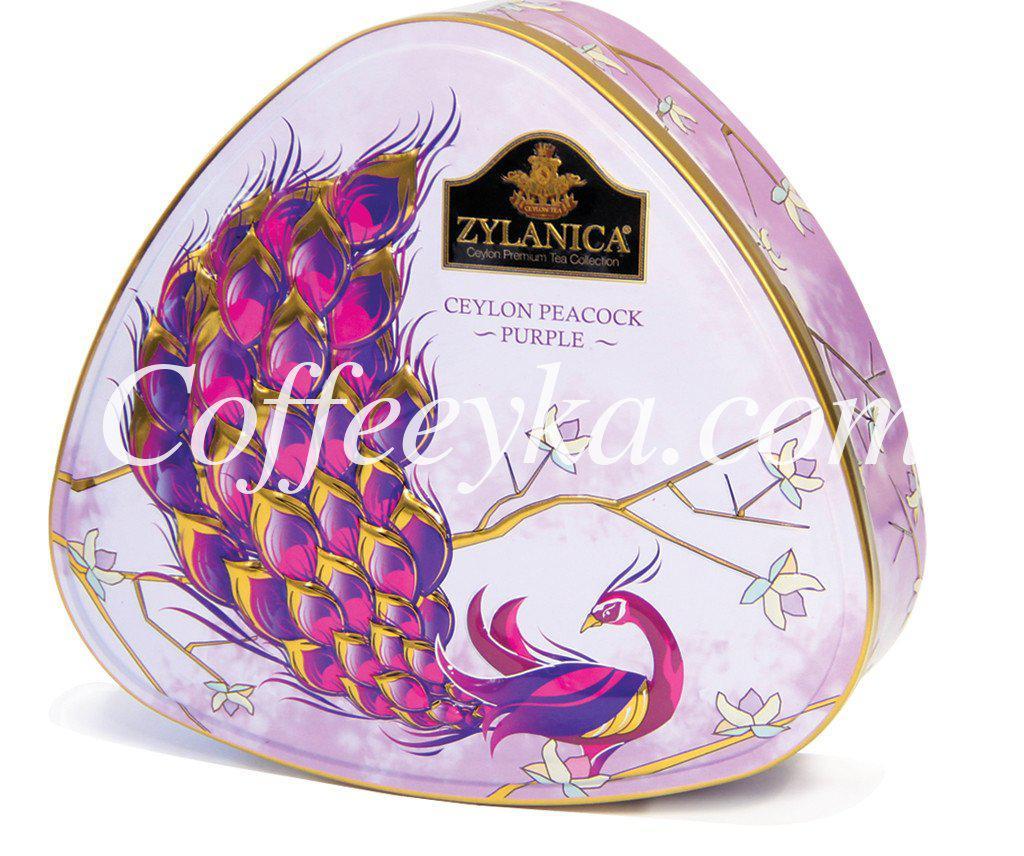 Чай Zylanica Ceylon Peacock Purple Фиолетовый Павлин 100 г. ж/б