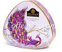 Чай Zylanica Ceylon Peacock Purple Фиолетовый Павлин 100 г. ж/б, фото 1