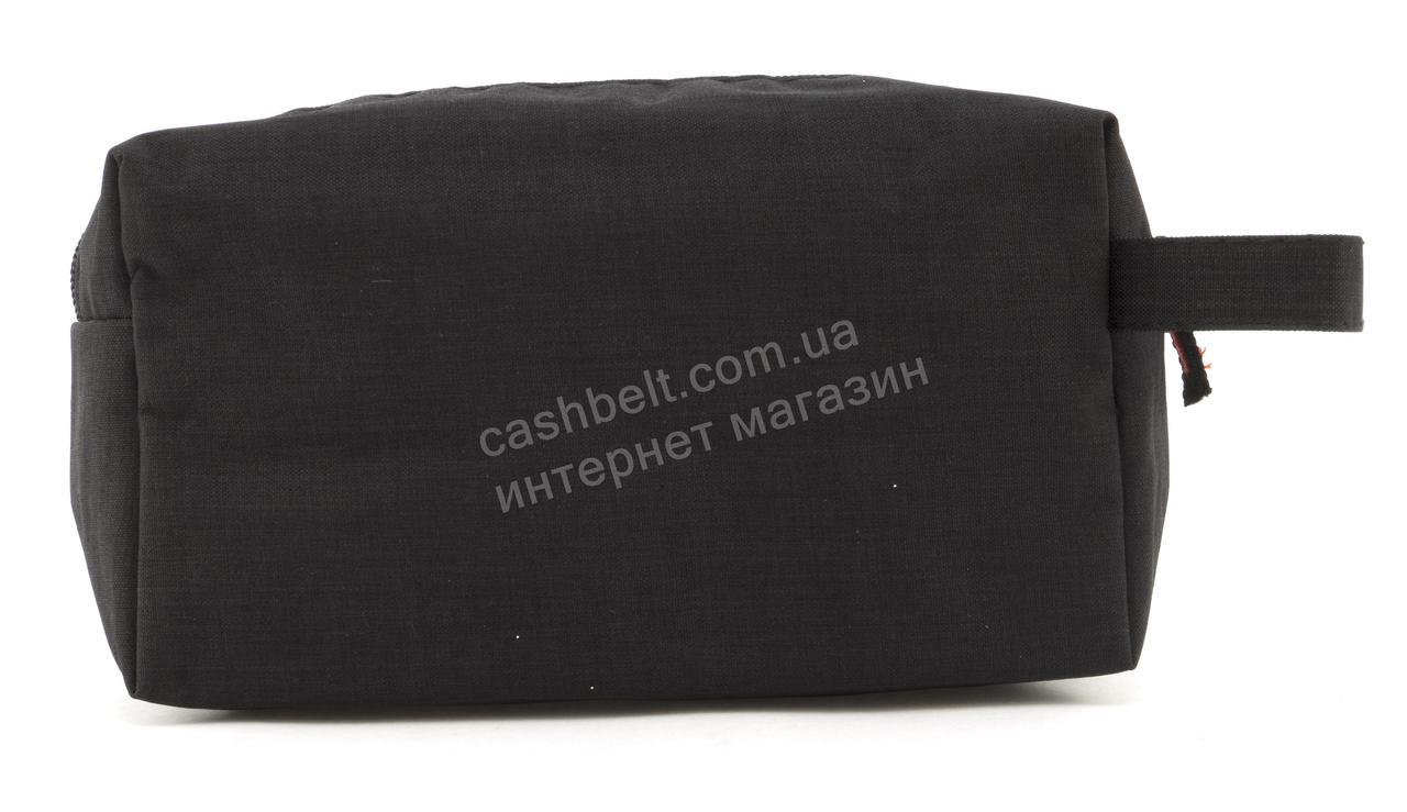 Универсальная тканевая косметичка  art. черная 8066 (102443) Украина