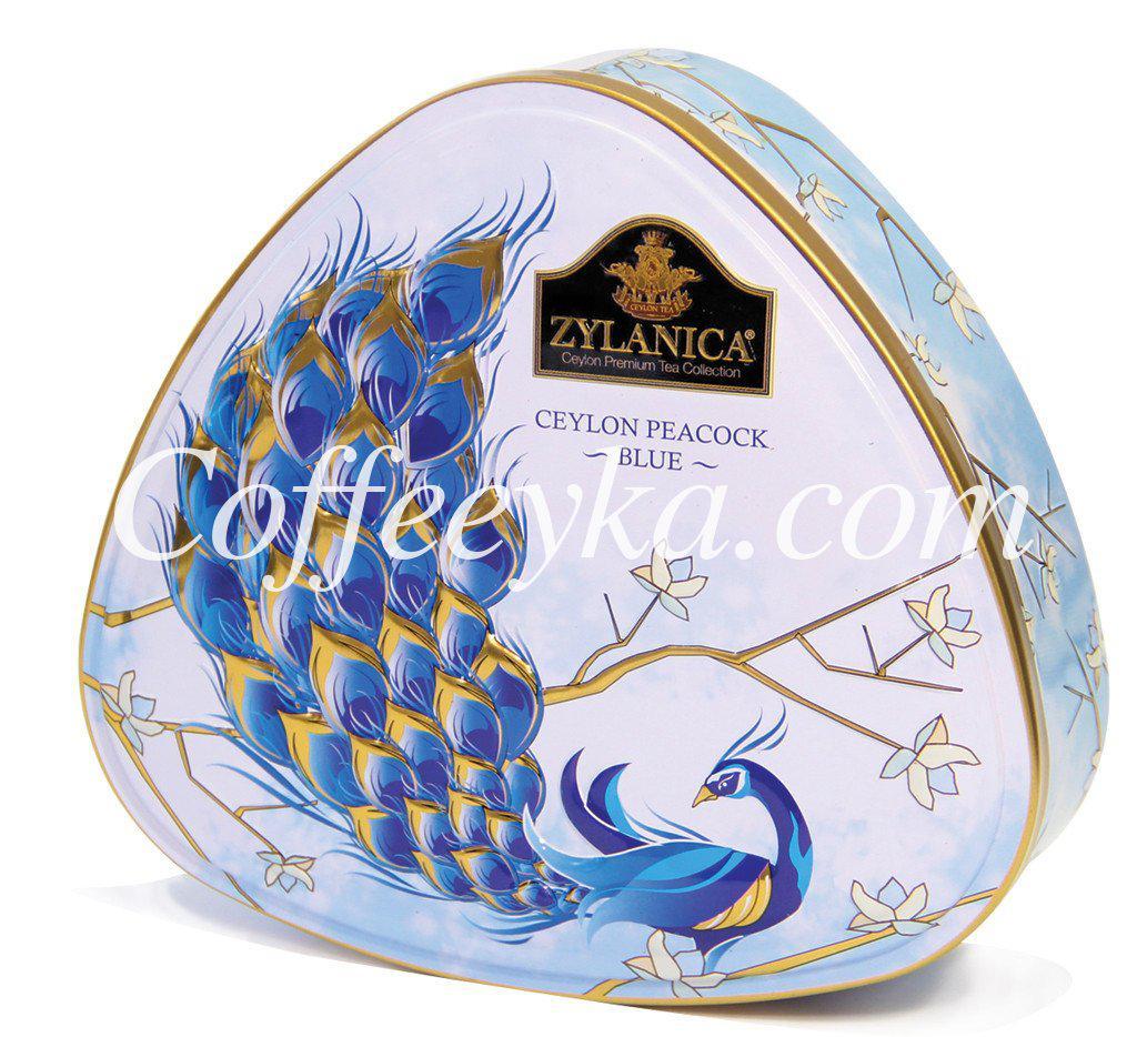 Чай Zylanica Ceylon Peacock Blue Синий Павлин с бергамотом 100г ж/б