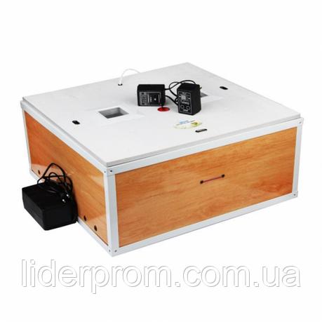 Инкубатор Курочка Ряба ИБ-130 механический переворот 130 яиц, цифровой, с вентилятором, фото 2