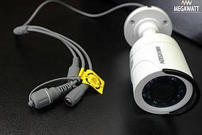 2.0 Мп Turbo HD відеокамера DS-2CE16D0T-IRF (3.6 мм)