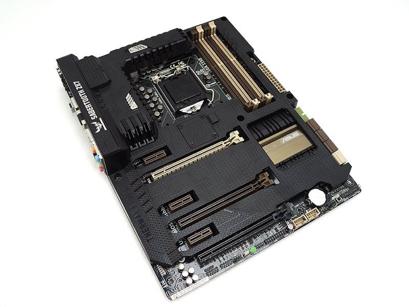 "Материнская плата Asus Sabertooth Z87 s.1150 DDR3 ""Over-Stock"""