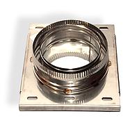 Разгрузочная платформа для дымохода нержавейка Версия Люкс D-550/620 мм толщина 0,6 мм