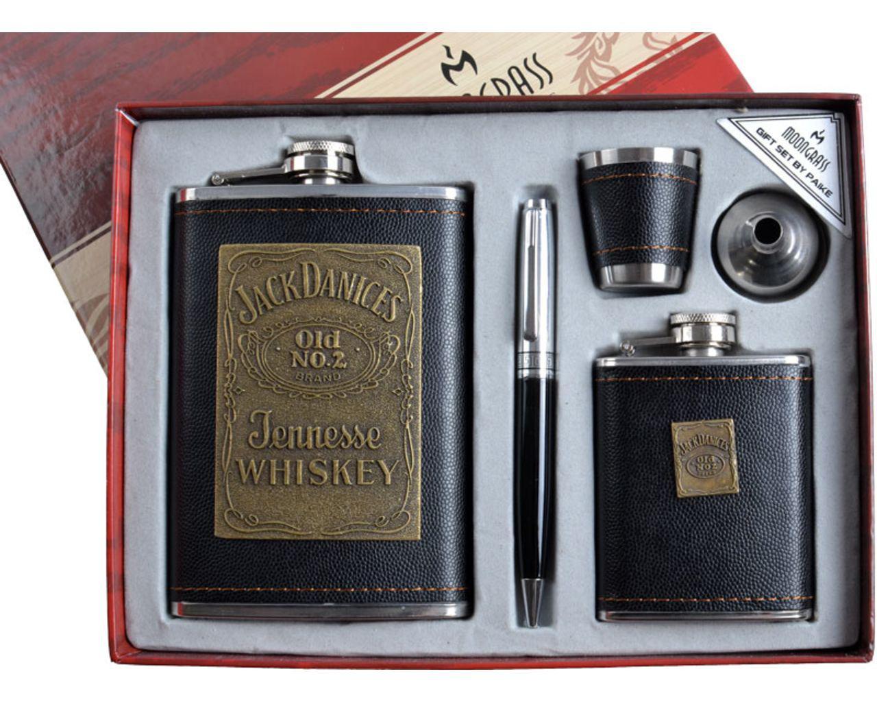 "Набор с флягой ""Moongrass"" DJH-1029, +лейка, ручка, мини-фляга, стопка."