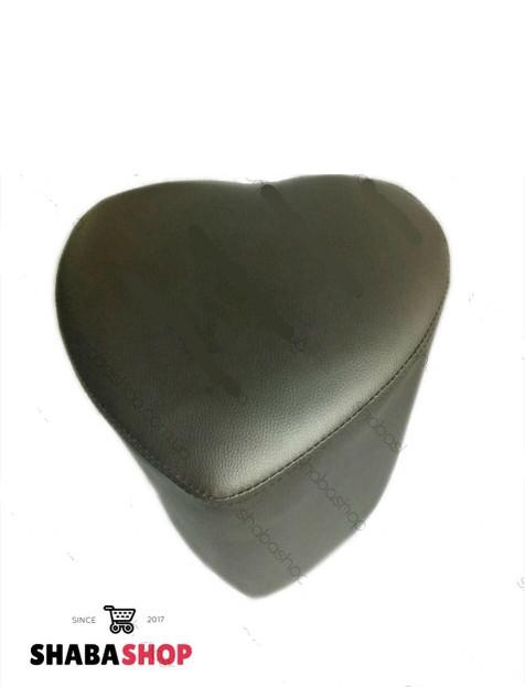 Пуф серце чорний