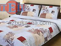 Комплект постельного белья теп бязь из хлопка семейный 923 бизерти