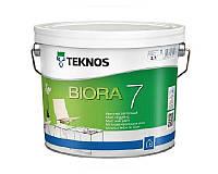 Краска акриловая TEKNOS BIORA 7 интерьерная 2,7 л