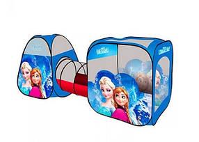 Детская игровая палатка Frozen 3312 с туннелем, в сумке