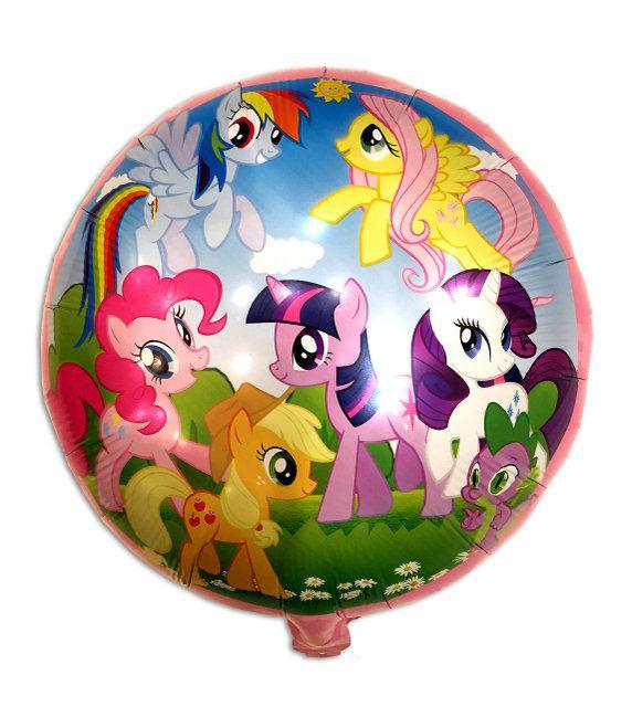 """Воздушный шар с гелием """"Пони""""45см"""