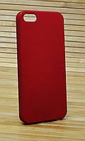 Чехол на Айфон, iPhone 5 / 5s / se Spigen красный
