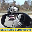 🔥✅ Дополнительные автомобильные зеркала Clear Zone Review, зеркало мертвых зон, фото 3