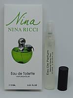 Мини-парфюм Nina Ricci Nina Plain Green Apple (10 мл)