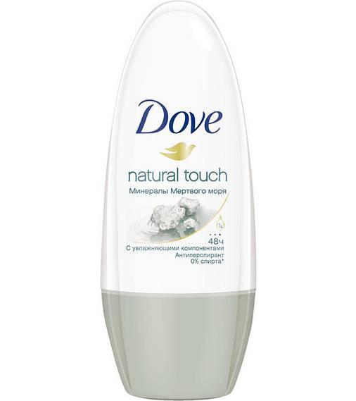 Антиперспирант Dove Прикосновение природы, 50мл