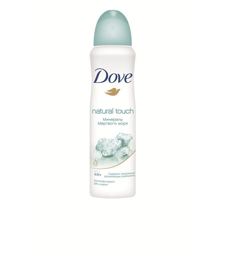 Акція -13% Антиперспирант Dove Прикосновение природы, 150мл