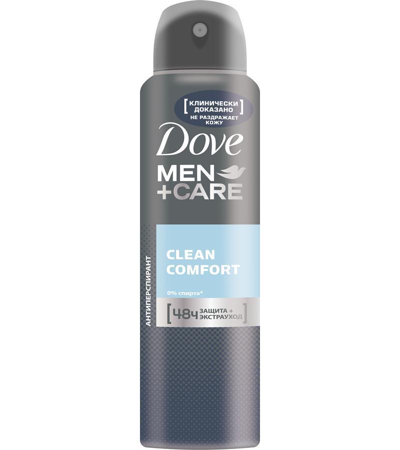 Акція -13% Антиперспірант Dove MEN+CARE Clean Comfort, 150мл