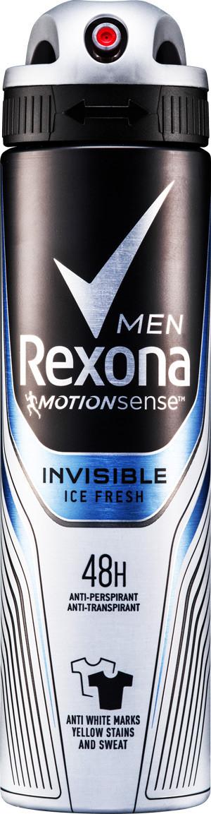 Акція -13% Антиперспирант Rexona MEN Прозрачный лед, 150мл