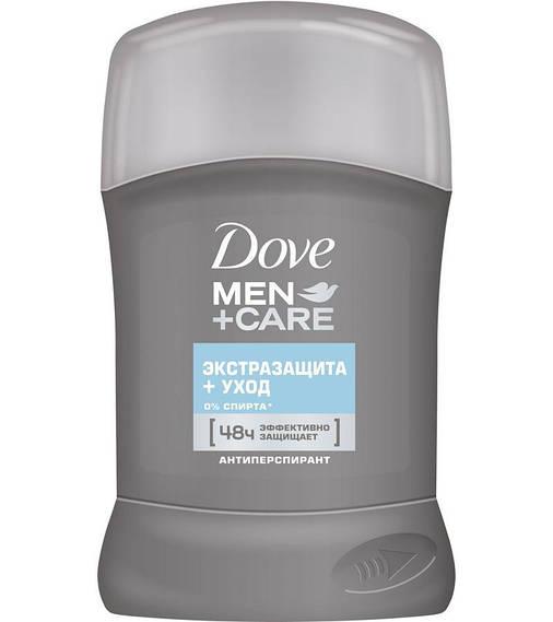 Антиперспирант Dove MEN+CARE Экстразащита и уход, 50мл