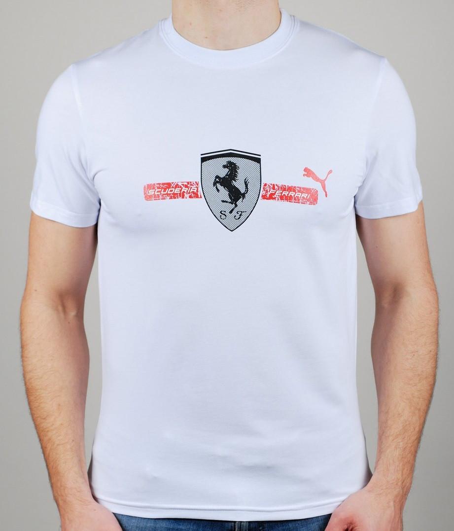 c9a36b59b1c8 Мужская футболка Puma Scuderia Ferrari - Интернет-магазин zakyt.com -  ЗАКУТКОМ. Доставка