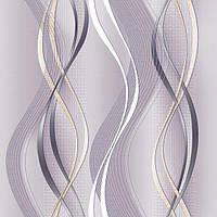 Шпалери паперові Ріанна 1112 сіро-бузковий, фото 1