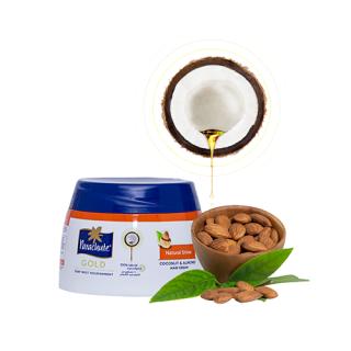 Кокосовий крем для блиску волосся з екстрактом мигдалю 210 мл