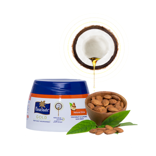 Кокосовый крем для блеска волос с экстрактом миндаля 210 мл