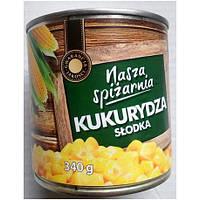 Консервированная Кукуруза Nasza Spizarnia 340г