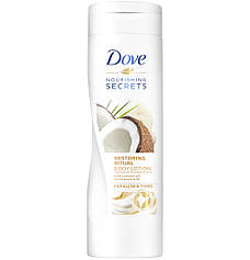 Лосьон для тела Dove с кокосовым маслом и миндальным молочком, 250 мл