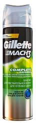 Гель для бритья Gillette MACH 3 Complete Defense Sensitive, 200мл