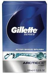 Акція -15% Лосьон после бритья Gillette Arctic Ice 100 мл