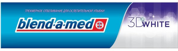 Зубная Паста Blend-a-Med 3D White Нежная Мята 100 Мл — в Категории