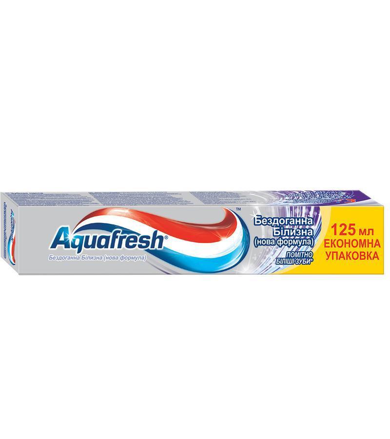 Зубная паста  Aquafresh Безупречное Отбеливание, 125мл