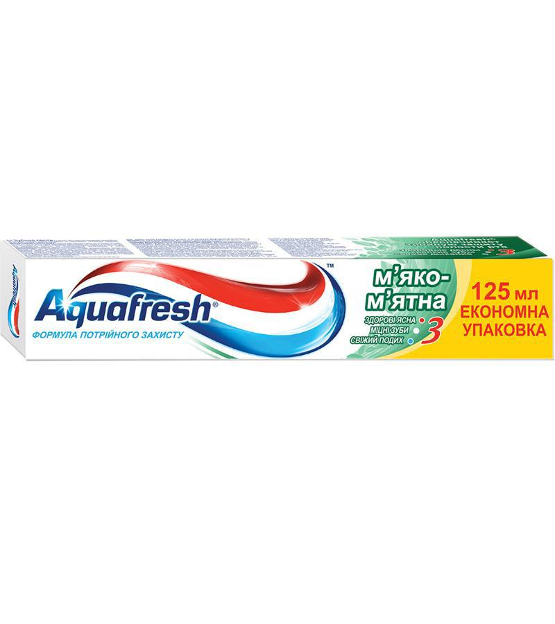 Зубная паста Aquafresh Мягко-мятная, 125мл