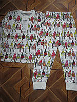 Детские трикотажные пижамки для мальчиков и девочек   3-4  года  Турция